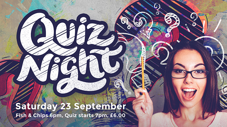 Quiz Night not far away!