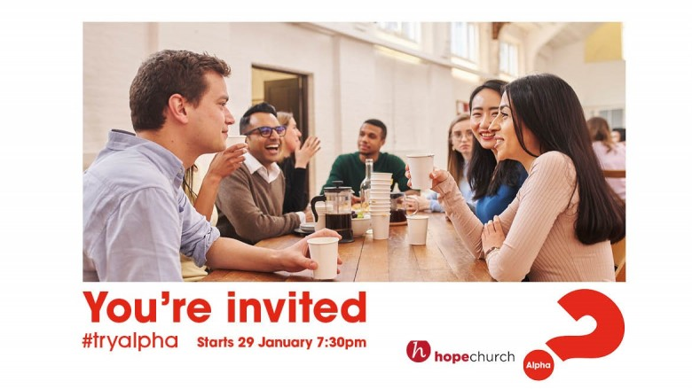 Alpha course set for January start